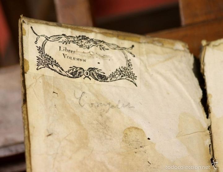 Libros antiguos: LP-293 - CARTAS FAMILIARES DEL ABATE J. ANDRÉS A SU HERMANO C. ANDRÉS. TOMO II. 1786. - Foto 4 - 60771807