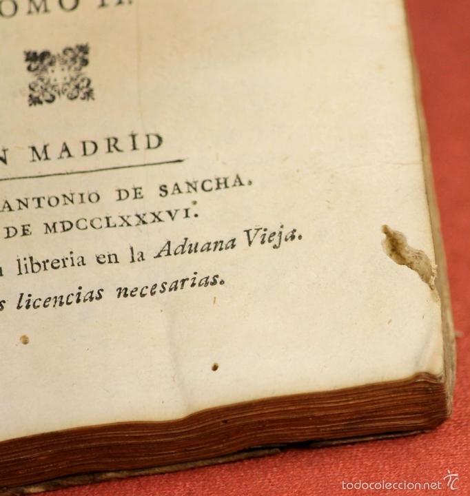 Libros antiguos: LP-293 - CARTAS FAMILIARES DEL ABATE J. ANDRÉS A SU HERMANO C. ANDRÉS. TOMO II. 1786. - Foto 5 - 60771807