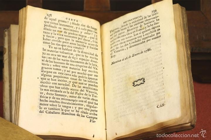 Libros antiguos: LP-293 - CARTAS FAMILIARES DEL ABATE J. ANDRÉS A SU HERMANO C. ANDRÉS. TOMO II. 1786. - Foto 8 - 60771807