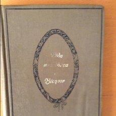 Libros antiguos: VIDA ANECDÓTICA DE BECQUER. JUAN LÓPEZ NÚÑEZ. OBRA ILUSTRADA CON GRABADOS. Lote 61900616