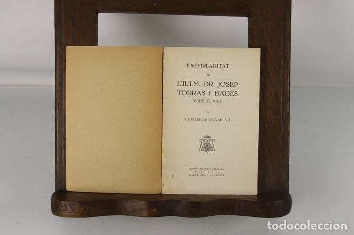 Libros antiguos: 5132- EDIT. FOMENT DE PIETAT. 2 TITULOS DEL DOCTOR I BISBE TORRES I BAGES. 1928/1932. - Foto 3 - 45198201