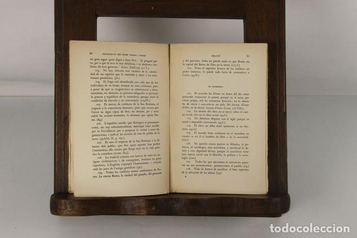 Libros antiguos: 5132- EDIT. FOMENT DE PIETAT. 2 TITULOS DEL DOCTOR I BISBE TORRES I BAGES. 1928/1932. - Foto 5 - 45198201
