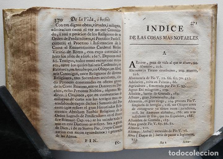 Libros antiguos: VIDA Y HECHOS DE SAN PIO V PONTÍFICE ROMANO POR DON ANTONIO DE FUENMAYOR - 1773 - Foto 7 - 67282825