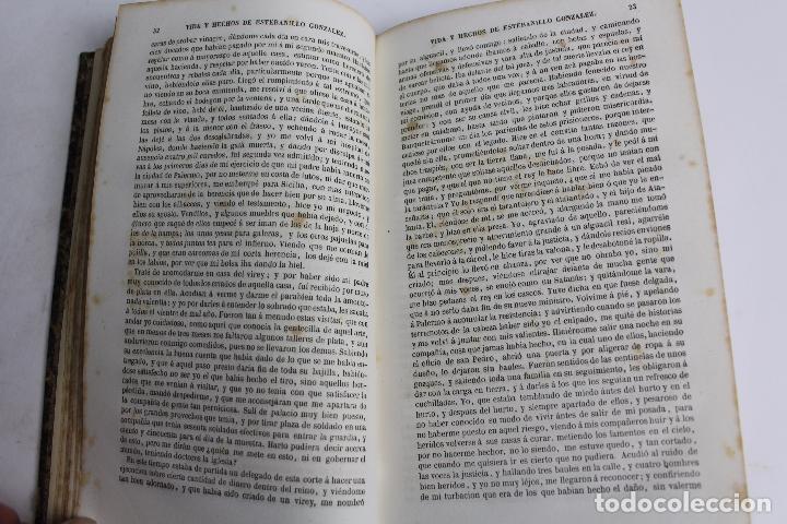 Libros antiguos: L-4237. VIDA Y HECHOS DE ESTEBANILLO GONZALEZ, 1847. - Foto 3 - 67498581