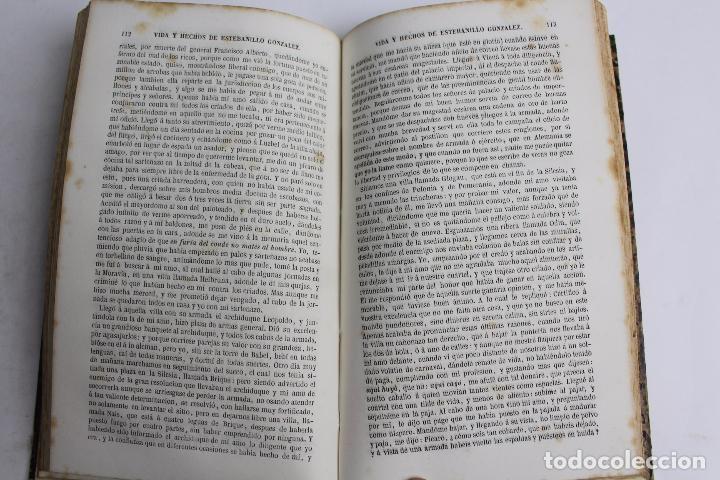 Libros antiguos: L-4237. VIDA Y HECHOS DE ESTEBANILLO GONZALEZ, 1847. - Foto 5 - 67498581