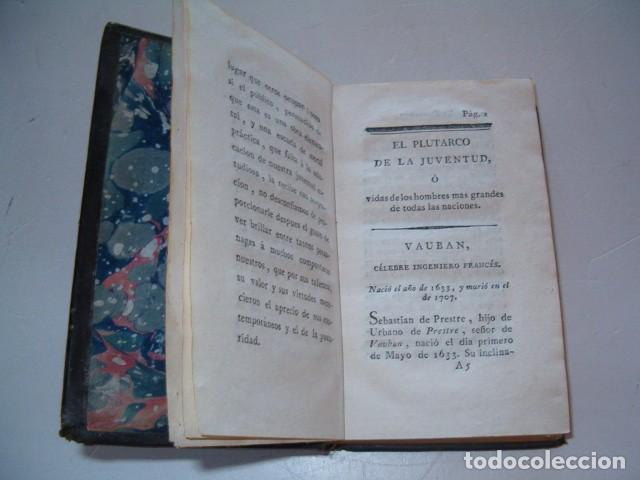 Libros antiguos: PIERRE BLANCHARD. Plutarco de la Juventud en Castellano. Tomos II, III y VII. TRES TOMOS. RM77770. - Foto 7 - 68888989