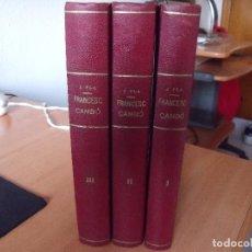 Libros antiguos: JOSEP PLA: FRANCESC CAMBÓ - 1ª EDICIO. Lote 69499841