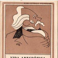 Libros antiguos: VIDA ANECDÒTICA DE ALBERT LLANAS - RECULL D'ACUDITS I FACÈCIES (MILLÀ, S.F.) EN CATALÁN. Lote 71835351