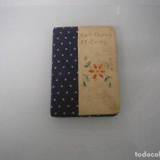 Libros antiguos: DON PEDRO, EL CRUEL - COLECCIÓN MINIATURA Nº 1 - SERIE 2ª - EDICIONES E. C. A. - TELA Y PIEL. Lote 72341847