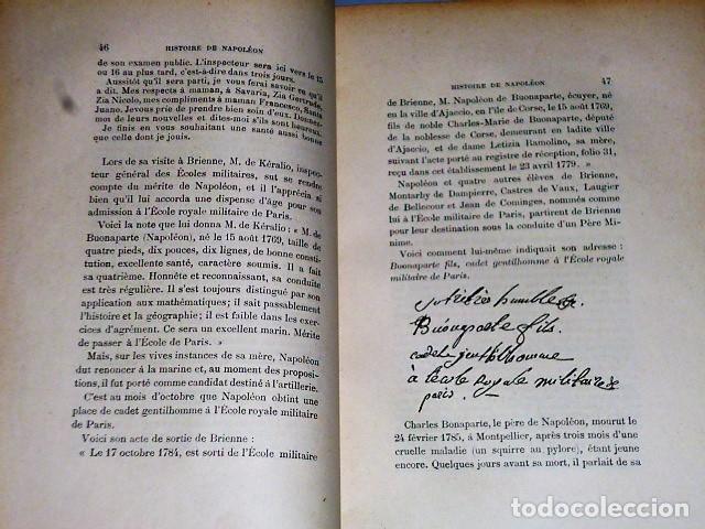 Libros antiguos: HISTOIRE DE NAPOLÉON (1902) - Foto 3 - 81152384
