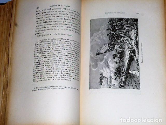 Libros antiguos: HISTOIRE DE NAPOLÉON (1902) - Foto 4 - 81152384