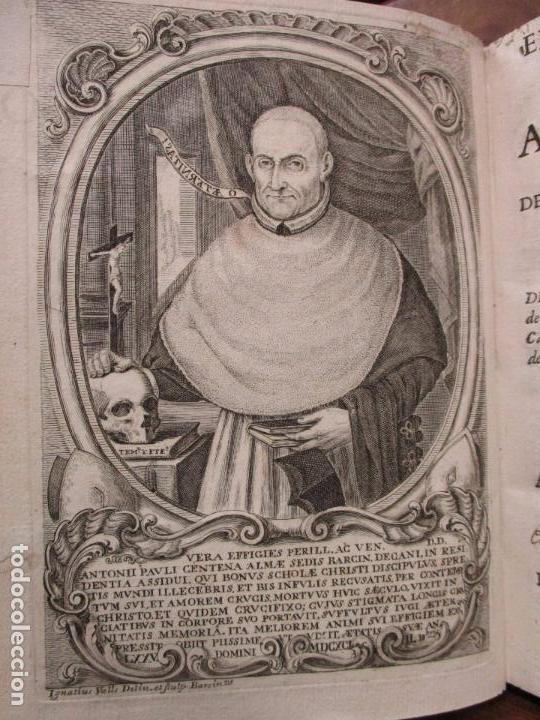 Libros antiguos: EL SOLITARIO EN POBLADO. VIDA DEL VULNERABLE, E ILUSTRE DOCTOR ANTONIO PABLO CENTENA. 1744. - Foto 4 - 82331684