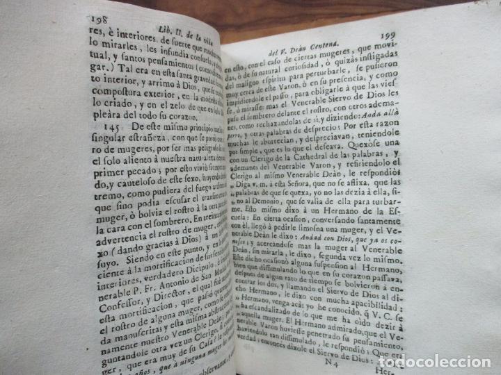 Libros antiguos: EL SOLITARIO EN POBLADO. VIDA DEL VULNERABLE, E ILUSTRE DOCTOR ANTONIO PABLO CENTENA. 1744. - Foto 11 - 82331684