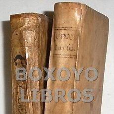 Libros antiguos: QUINTO CURCIO. Q. CURTII RUFI, HISTORIA ALEXANDRI MAGNI. EDITIO NOVISSIMA JUXTA EXEMPLAR ELZEVIRIANU. Lote 86174580