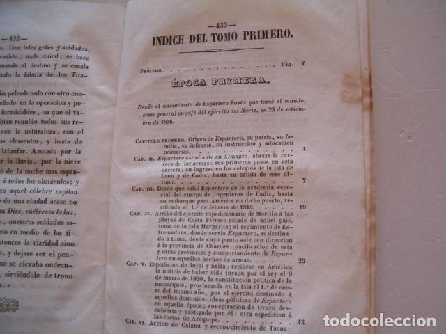 Libros antiguos: D. JOSÉ SEGUNDO FLOREZ (DIR.). Espartero. CUATRO TOMOS. RM80633. - Foto 3 - 86404996