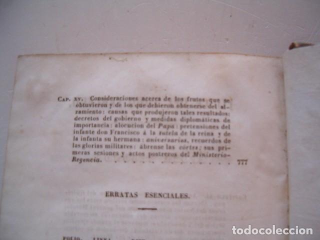 Libros antiguos: D. JOSÉ SEGUNDO FLOREZ (DIR.). Espartero. CUATRO TOMOS. RM80633. - Foto 8 - 86404996