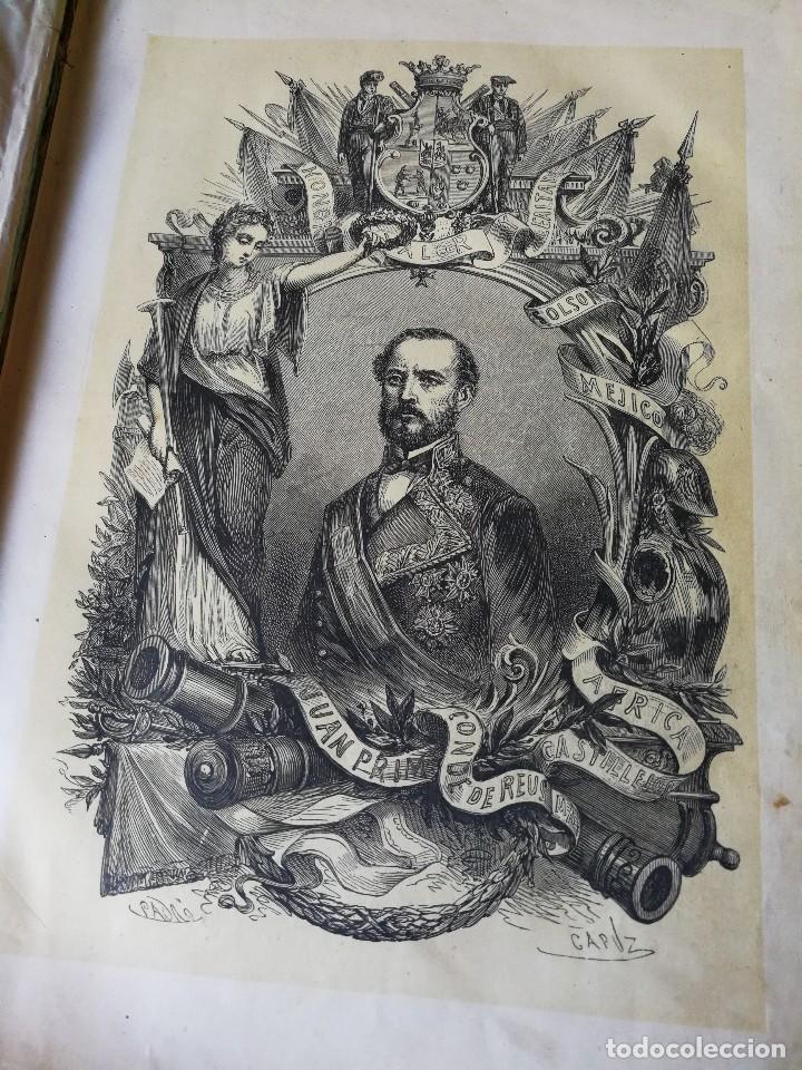 Libros antiguos: HISTORIA DEL GENERAL PRIM. TOMOS I Y II- DON FRANCISCO J. ORELLANA, 1871.COMPLETO. - Foto 3 - 89803352