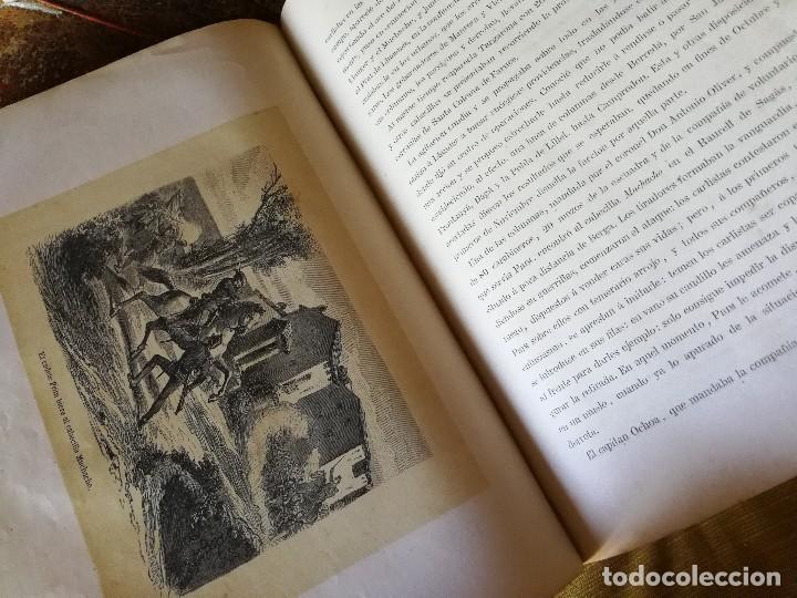 Libros antiguos: HISTORIA DEL GENERAL PRIM. TOMOS I Y II- DON FRANCISCO J. ORELLANA, 1871.COMPLETO. - Foto 7 - 89803352