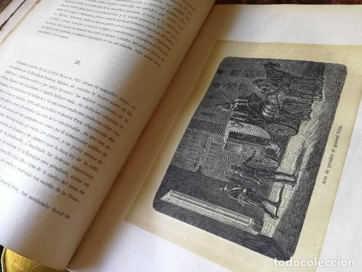 Libros antiguos: HISTORIA DEL GENERAL PRIM. TOMOS I Y II- DON FRANCISCO J. ORELLANA, 1871.COMPLETO. - Foto 9 - 89803352
