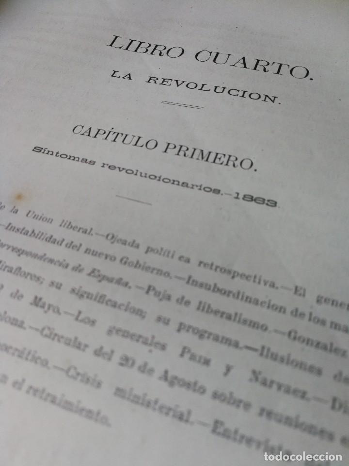 Libros antiguos: HISTORIA DEL GENERAL PRIM. TOMOS I Y II- DON FRANCISCO J. ORELLANA, 1871.COMPLETO. - Foto 10 - 89803352