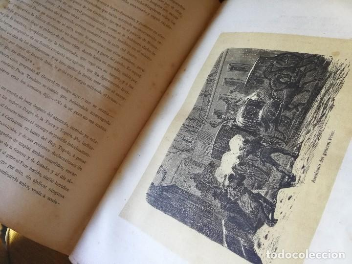 Libros antiguos: HISTORIA DEL GENERAL PRIM. TOMOS I Y II- DON FRANCISCO J. ORELLANA, 1871.COMPLETO. - Foto 12 - 89803352