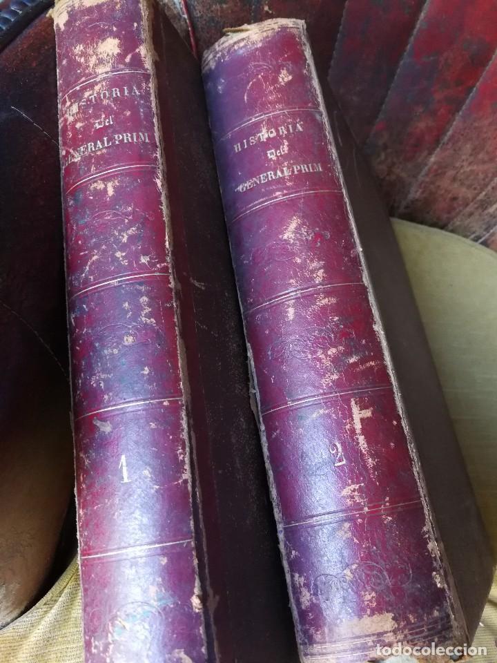Libros antiguos: HISTORIA DEL GENERAL PRIM. TOMOS I Y II- DON FRANCISCO J. ORELLANA, 1871.COMPLETO. - Foto 13 - 89803352