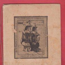 Libros antiguos: JUAN SEBASTIAN DE EL CANO 16 PAGINAS EDITA G.R.S.A. MADRID APROXIMADAMENTE AÑO 1935 LIV002. Lote 90706800