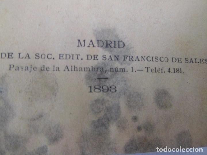 Libros antiguos: LA REFORMADORA DEL CARMELO . HISTORIA DE SANTA TERESA DE JESÚS. ISABEL CHEIX MARTÍNEZ. 1893 - Foto 4 - 92835680