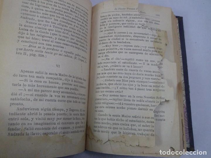 Libros antiguos: LA REFORMADORA DEL CARMELO . HISTORIA DE SANTA TERESA DE JESÚS. ISABEL CHEIX MARTÍNEZ. 1893 - Foto 5 - 92835680