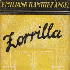 Libros antiguos: ZORRILLA, POR EMILIANO RAMÍREZ ÁNGEL. AÑO 193? (8.1). Lote 93015055