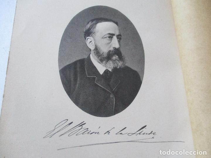 Libros antiguos: APUNTES BIOGRÁFICOS DEL BARÓN DE LA LINDE-RAFAEL DE VALENZUELA Y SÁNCHEZ-MUÑOZ.1893-IMPRENTA Y LIT. - Foto 7 - 94038595