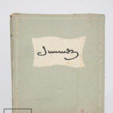 Libros antiguos: LIBRO EN CATALÁN - JUNCEDA 1881-1948 - AMIGOS DE JUNCEDA. FOMENTO DE LAS ARTES DECORATIVAS, 1952. Lote 94239045