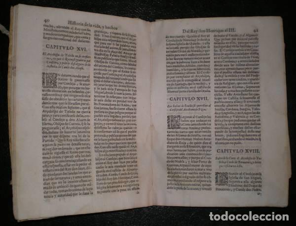Libros antiguos: GONZALEZ DAVILA, GIL: HISTORIA DE LA VIDA Y HECHOS DEL REY DON HENRIQUE TERCERO DE CASTILLA. 1638 - Foto 3 - 95486327