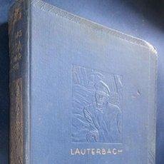 Libros antiguos: MIS AVENTURAS DE GUERRA EN EL MAR. POR LOWEL THOMAS. 1936. 1ª EDC.. Lote 95503995