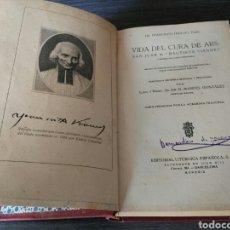 Libros antiguos: VIDA DEL CURA DE ARS SAN JUAN Mª BAUTISTA VIANNEY - F TROCHU TRADUCCION MANUEL GONZALEZ - AÑO 1929. Lote 95697807