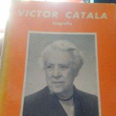 Libros antiguos: VICTOR CATALA . Lote 95945951