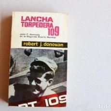Libros antiguos: LANCHA TORPEDERA 109. Lote 96024979