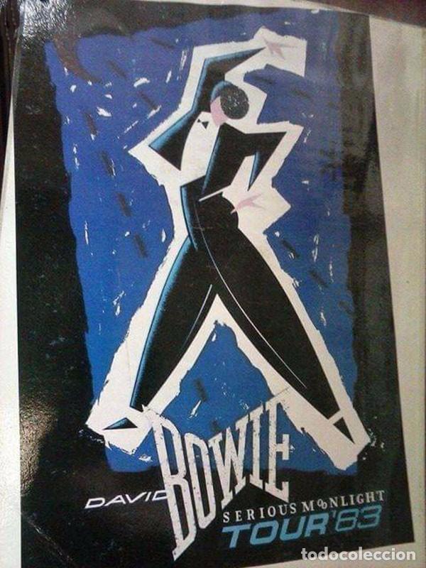 Libros antiguos: Libro David Bowie S Serious Moonlight 1984 - Foto 8 - 96637375