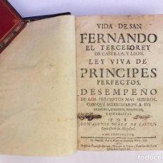Libros antiguos: VIDA DE SAN FERNANDO EL TERCERO REY DE CASTILLA, Y LEON... - NUÑEZ DE CASTRO, ALONSO (1673). Lote 96956271