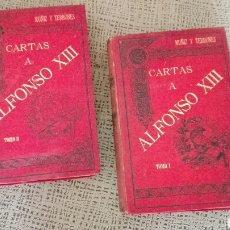 Libros antiguos: COLECCION 2 TOMOS «CARTAS A ALFONSO XIII». Lote 97710560