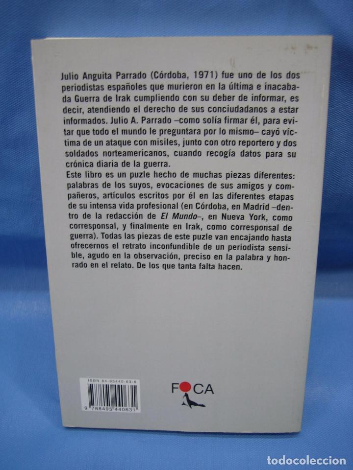 Libros antiguos: Julio Anguita Parrado. Córdoba 2004 - Foto 5 - 98592583