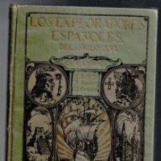 Libros antiguos: LOS EXPLORADORES ESPAÑOLES DEL SIGLO XVI, CHARLES F. LUMMIS. Lote 99737755