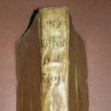 Libros antiguos: GONZALEZ TEXADA, JOSEPH: HISTORIA DE SANTO DOMINGO DE LA CALZADA, ABRAHAN DE LA RIOJA... 1702. Lote 99964363