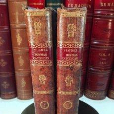 Libros antiguos: MEMORIAS DE LAS REYNAS CATHOLICAS, HISTORIA GENEALÓGICA DE LA CASA REAL... - 2 TOMOS - 1790 -. Lote 100281843