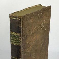 Libros antiguos: LA HEROICA VIDA, VIRTUDES Y MILAGROS DEL GRANDE S.FRANCISCO DE BORJA-ALVARO CIENFUEGOS-MADRID, 1717. Lote 100431967