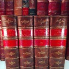 Libros antiguos: HISTORIA DEL LIBERTADOR DON JOSÉ DE SAN MARTÍN - JOSÉ PACÍFICO OTERO - 4 TOMOS - BUENOS AIRES - 1932. Lote 100464039