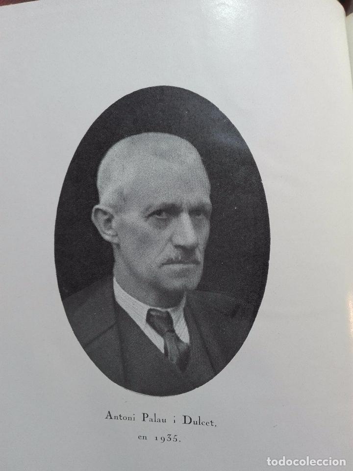 Libros antiguos: MEMORIAS DE UN LIBRERO CATALÁN - 1867-1935 - ANTONIO PALAU Y DULCET - BARCELONA - 1935 - - Foto 4 - 100473347