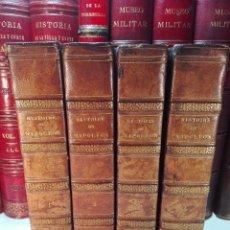 Libros antiguos: HISTOIRE DE NAPOLEÓN - M. DE NORVINS - TROISIÈME ÉDITION - 4 TOMES - PARIS - 1829 - FRANCES - . Lote 100727943