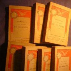 Libros antiguos: - MEMORIAS DE LA DUQUESA DE ABRANTES - (TOMOS 1, 3, 4, 7, 11, 12, Y 13) (PARIS, C.1910) (NAPOLEON). Lote 100742883