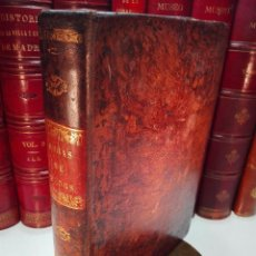 Libros antiguos: OBRAS DE D. ANTONIO RAFAEL MENGS - PRIMER PINTOR DE CÁMARA DEL REY -POR JOSEPH NICOLAS D AZARA -1797. Lote 101094579